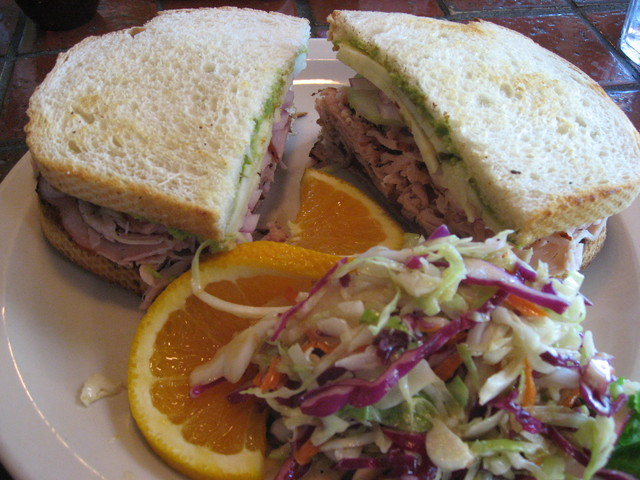Special of the day - Honey Turkey Sandwich at Country Gourmet Restaurants