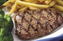 Photo of 7 oz.# Top Sirloin Steak