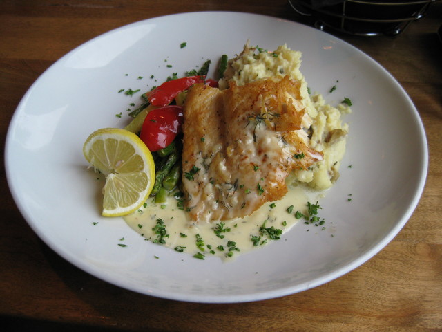 Lake Superior Trout at Bluefin Grille