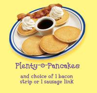 Plenty-o-Pancakes at Bob Evans