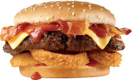 The Western Bacon Six Dollar Burger® at Carl's Jr.