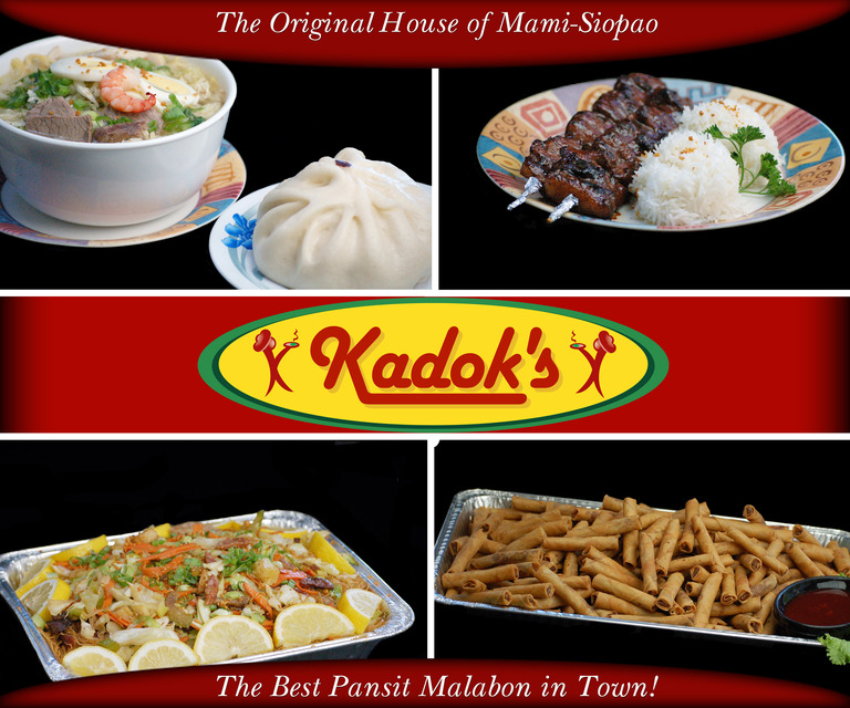 Restaurant Menu at Kadok's House of Mami Siopao