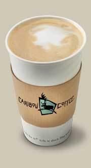 Breve at Starbucks Coffee