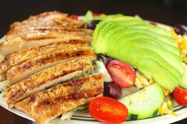 Santa Fe Chicken Salad at columbia restaurant