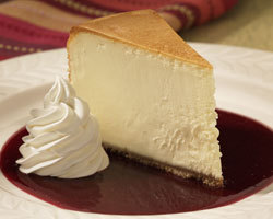 New York Style Cheesecake at Mimi's Cafe