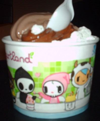 Tokidoki :) - Chocolate at Yogurtland