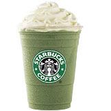 Tazo® Green Tea Frappuccino® Blended Creme at Starbucks Coffee