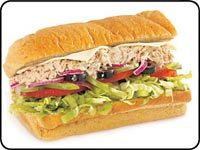Tuna at Subway