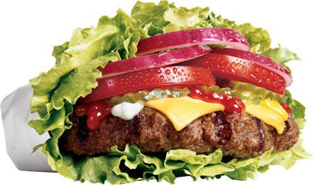 The Low Carb Six Dollar Burger™ at Carl's Jr.