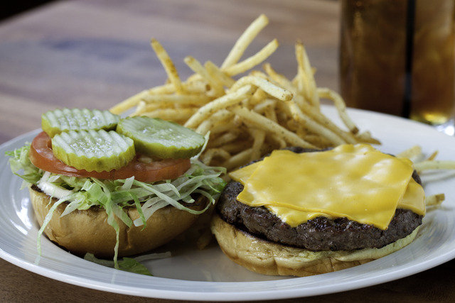 The Prime Burger at Pinon Grill