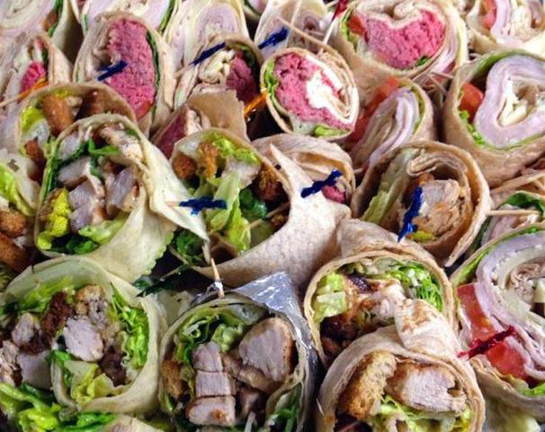 Wrap Platter at Royal Roast Beef & Seafood