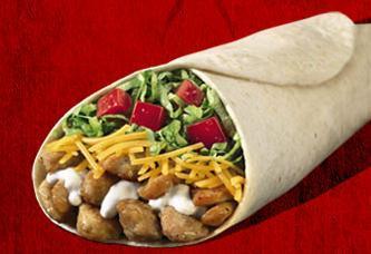 Del Classic Chicken Burrito™ at Del Taco