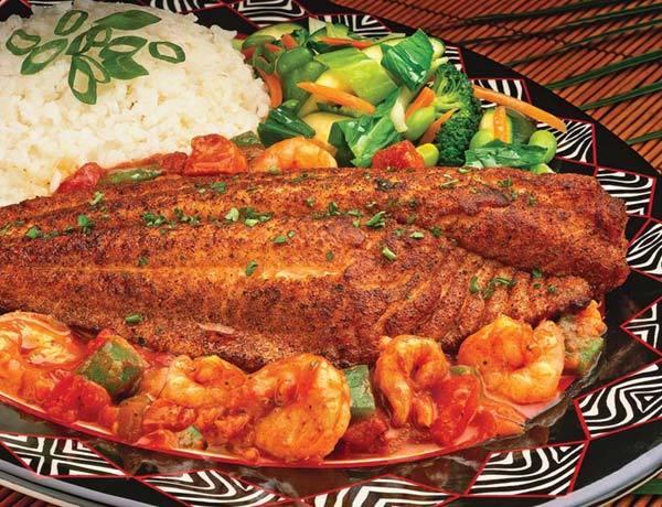 Dish at Elephant Bar Restaurant
