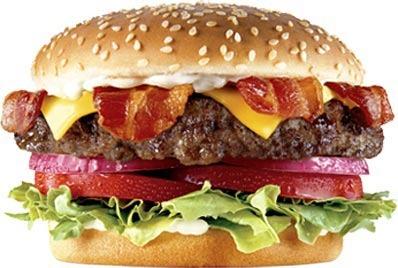 The Bacon Cheese Six Dollar Burger™ at Carl's Jr.