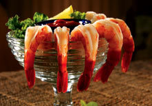 Chilled Jumbo Shrimp Cocktail at Red Lobster