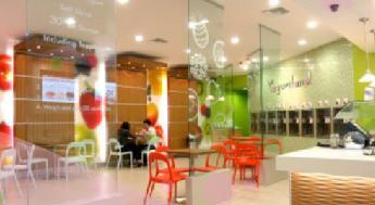 Interior at Yogurtland