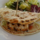 Grilled Mahi Mahi Flatbread Sandwich at Santa Monica Seafood Co.