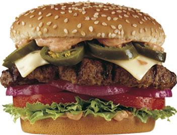 The Jalapeno Six Dollar Burger™ at Carl's Jr.