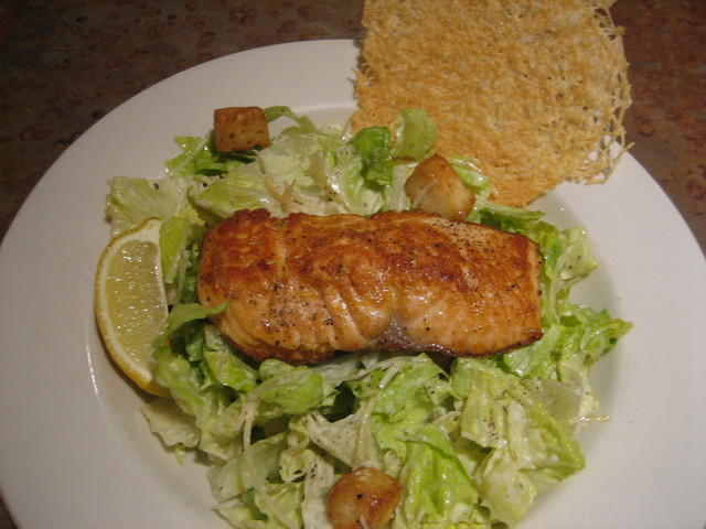 Photo of Citrus Salmon Caesar Salad