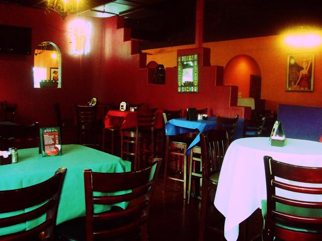 Interior at Ajuua Mexico Fare Latin Flair