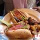 Pretty good 'chickin' - Chickin Parmesan Sandwich at Chicago Diner