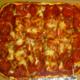 Great pie, crispy crust, mild sauce, heavy garlic - Pizza at Caro Amico Italian Cafe