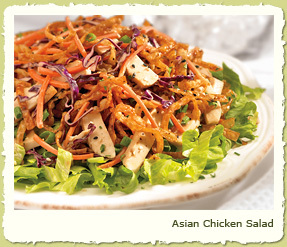 ASIAN CHICKEN SALAD at Coco's Restaurant & Bakery