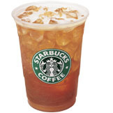 Tazo® Black Shaken Iced Tea at Starbucks Coffee