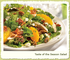 NEW TASTE OF THE SEASON SALAD at Coco's Restaurant & Bakery