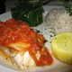 This was the daily prix fixe special - Northern Halibut at Z Mario