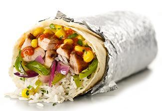 Fajita Burrito at Chipotle Mexican Grill