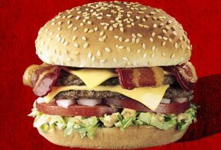 Bacon Double Del® Cheeseburger at Del Taco