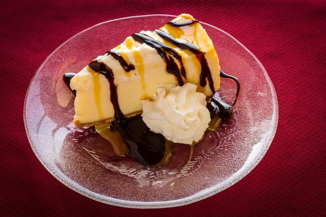 Cheesecake at Capri Steak House