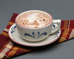 Hot Chocolate at Mimi's Cafe