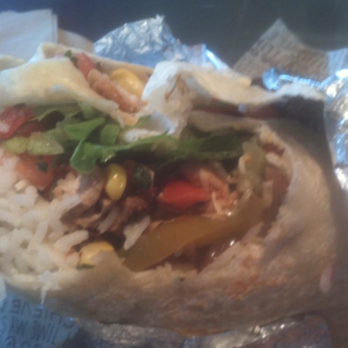 Chicken Fajita Burrito at Chipotle Mexican Grill