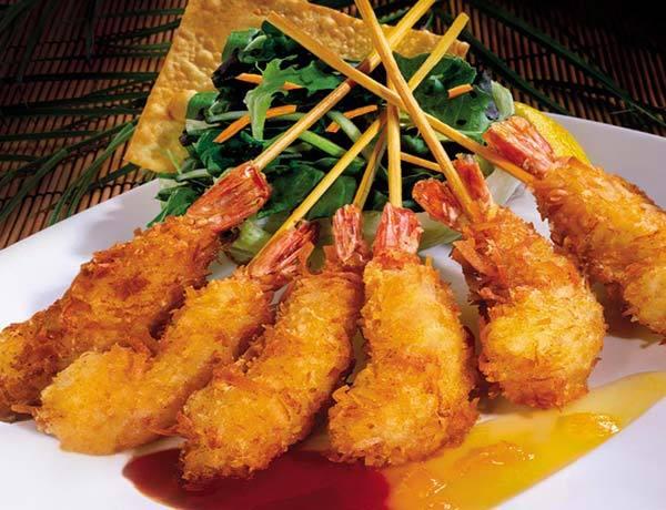 Photo of Niu, Niu Coconut Fried Shrimp Skewers