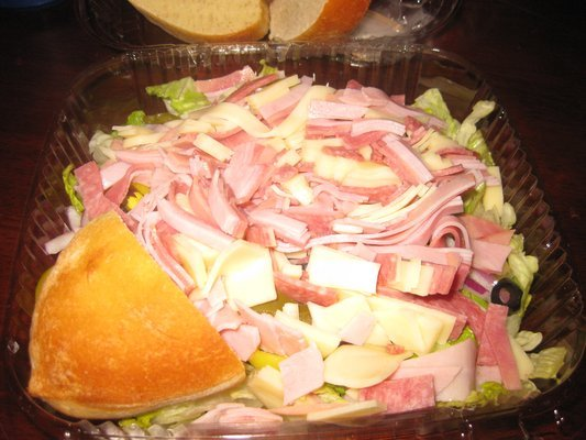 Photo of chef salad