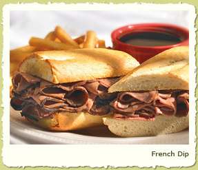 FRENCH DIP at Coco's Restaurant & Bakery