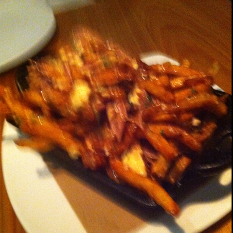 Duck Poutine at Sustain Restaurant