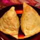 vegetable samosas at Namaskaar