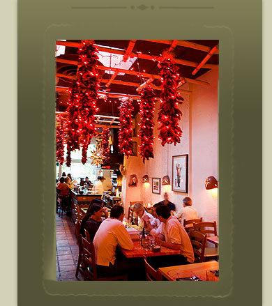 Interior at Cactus Restaurant