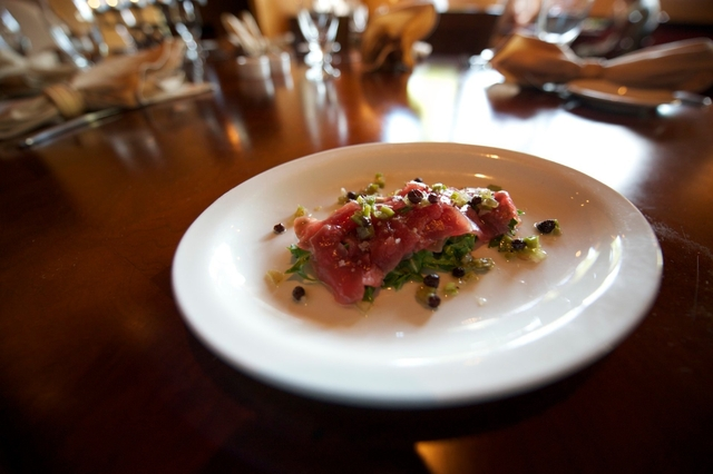 Photo of Tuna Carpaccio