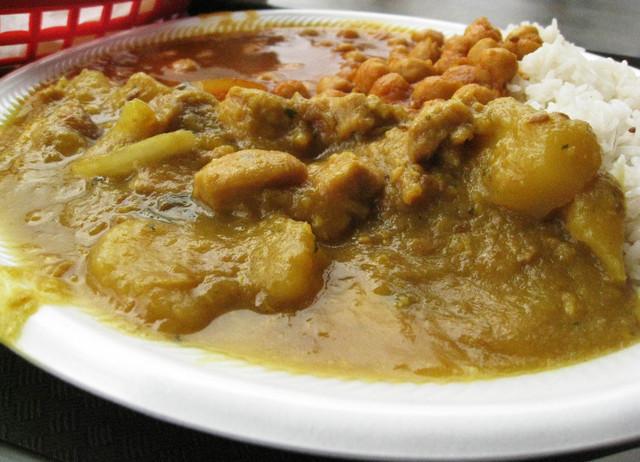 Garlic Chicken at Taste of India