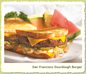 SAN FRANCISCO SOURDOUGH BURGER at Coco's Restaurant & Bakery