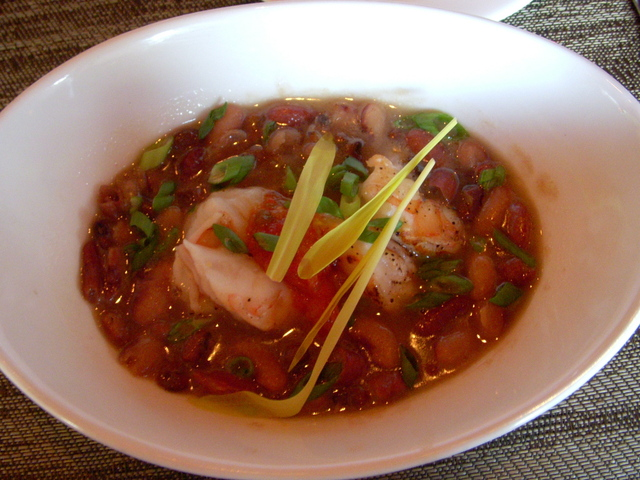 Photo of Field Pea & Shrimp Soup