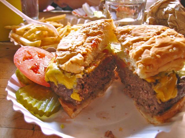 Cheeseburger at Corner Bistro