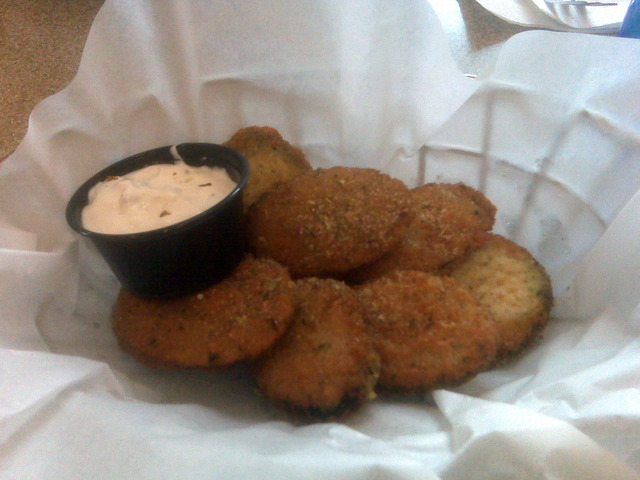 Zucchini Bites at Dino's Gyros - Coon Rapids