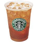 Tazo® Black Shaken Iced Tea Lemonade at Starbucks Coffee