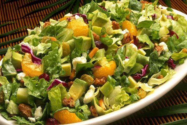 Tropical Citrus Adventure Side Salad at Elephant Bar Restaurant