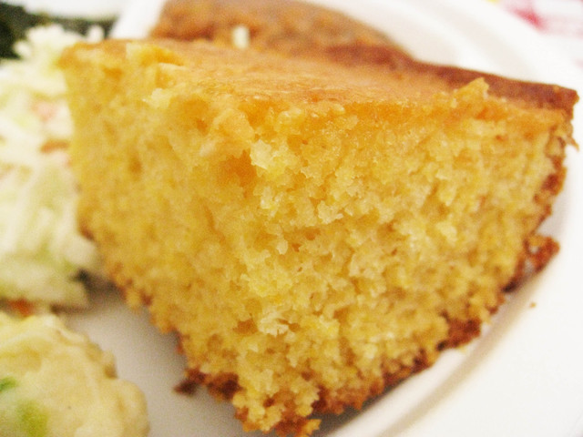 Corn Bread at Bludso's BBQ